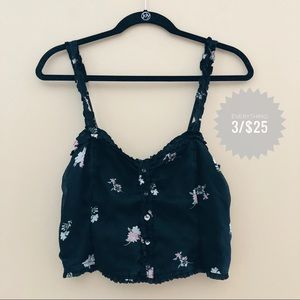 Women's ABERCROMBIE & FITCH crop top